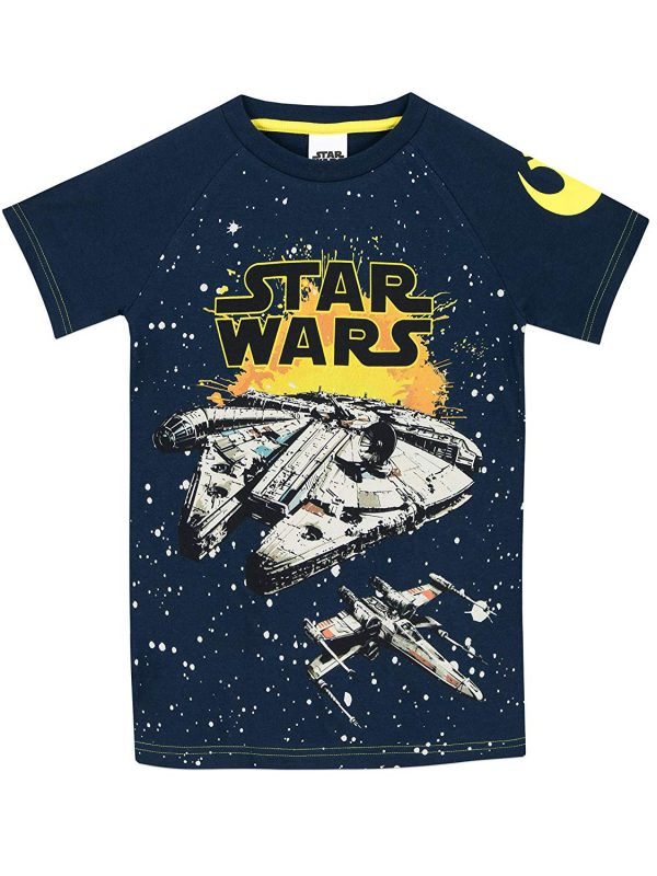 camiseta star wars niño