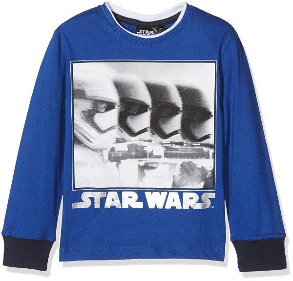 sudadera star wars azul